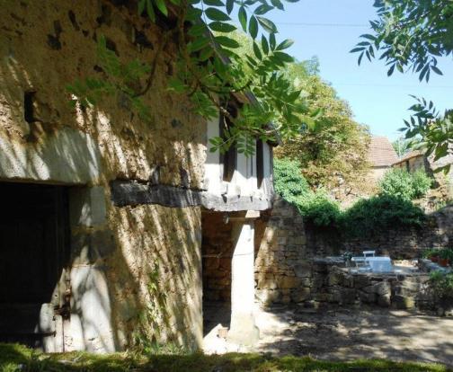 Barn and courtyard