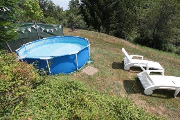 pool for gite