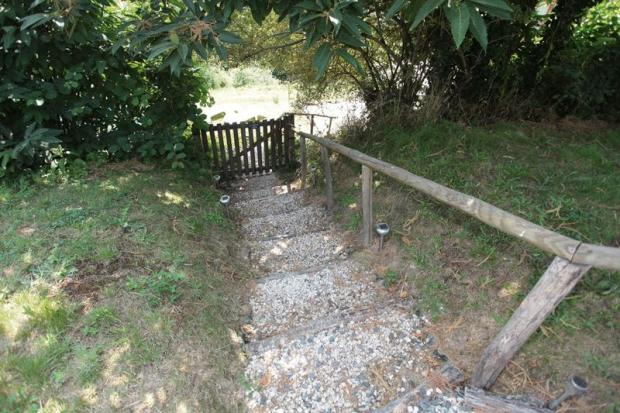 entrance steps to