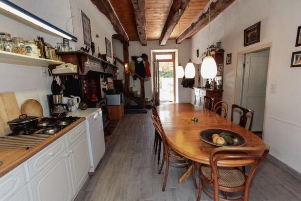 Kitchen in main...