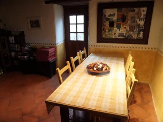 House dining area