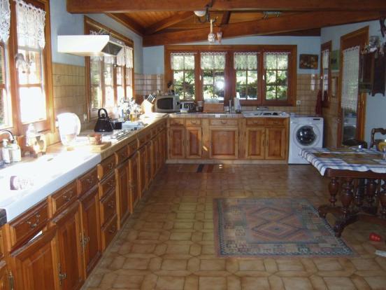 Large sized kitchen