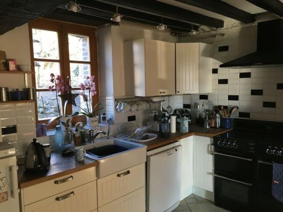 Gite kitchen area