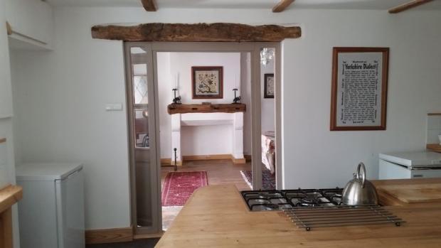 Kitchen through to