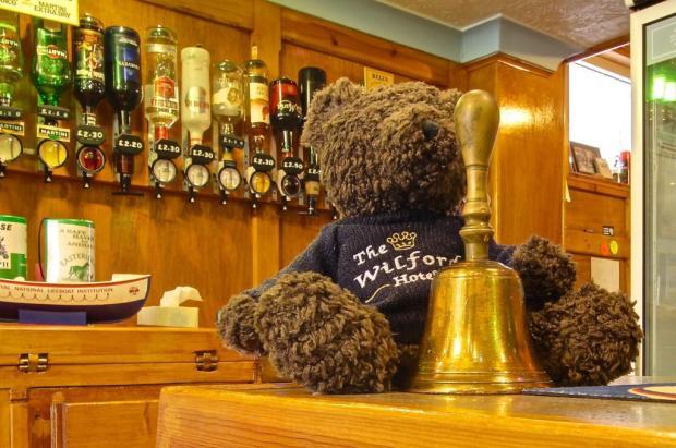 Wilford Bear at the Bar