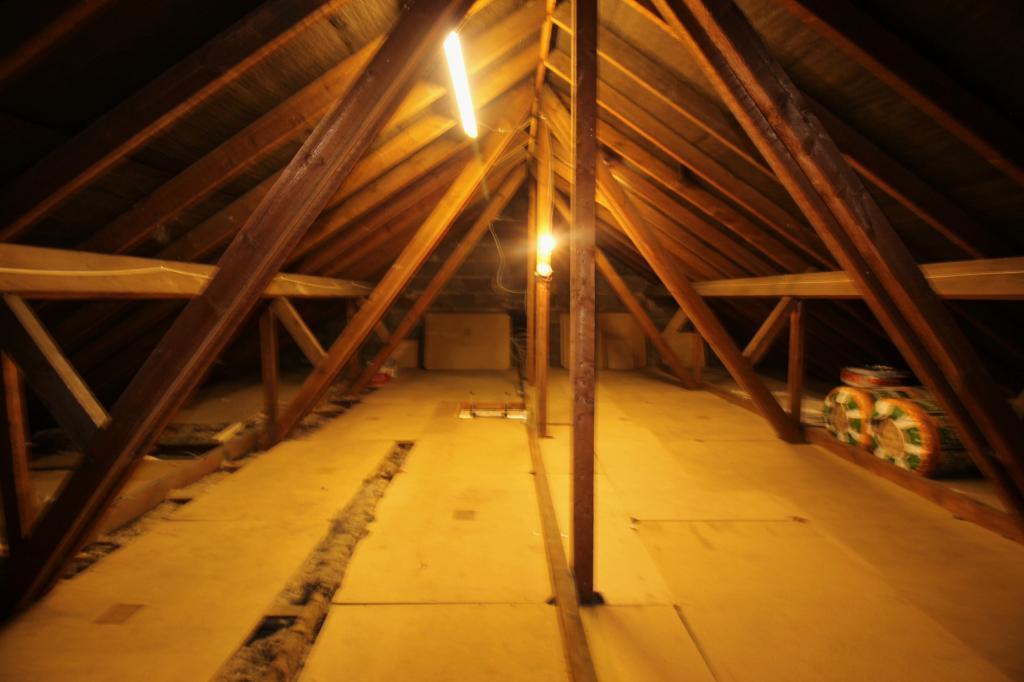 Loft Space.Potential for Dormer.