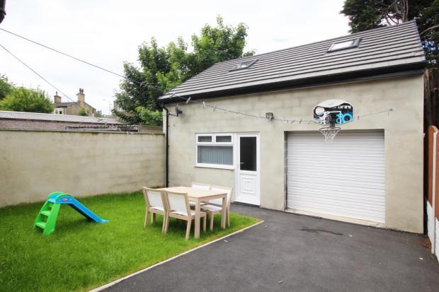 Detached Garage, Gym and playroom