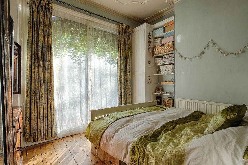 Bedroom 1, towards garden