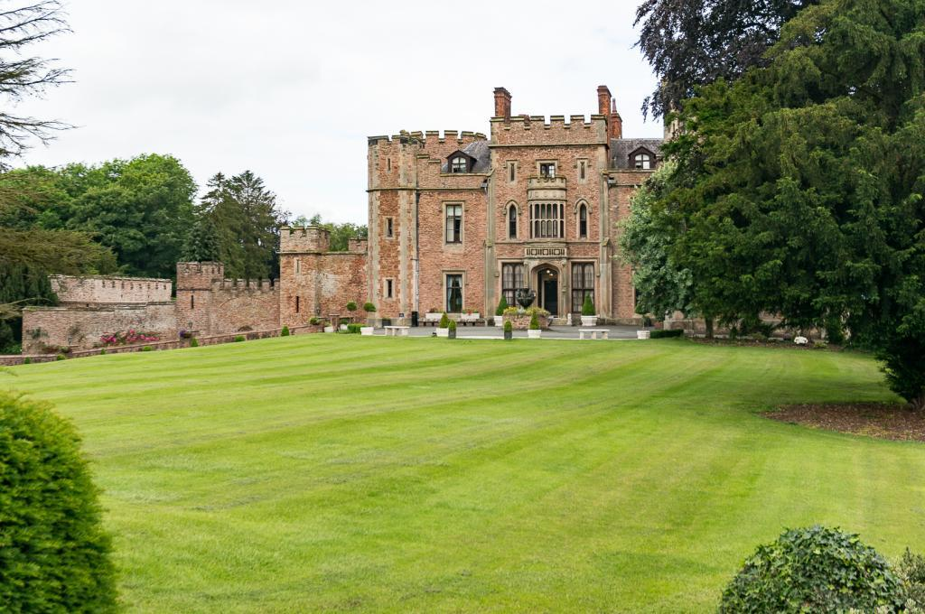 View of Rowton Castle