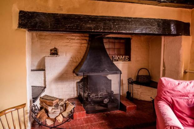 Inglenook Fireplace in Sitting Room