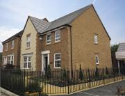 4 bed new property in Heol Cwrdy, Sarn...