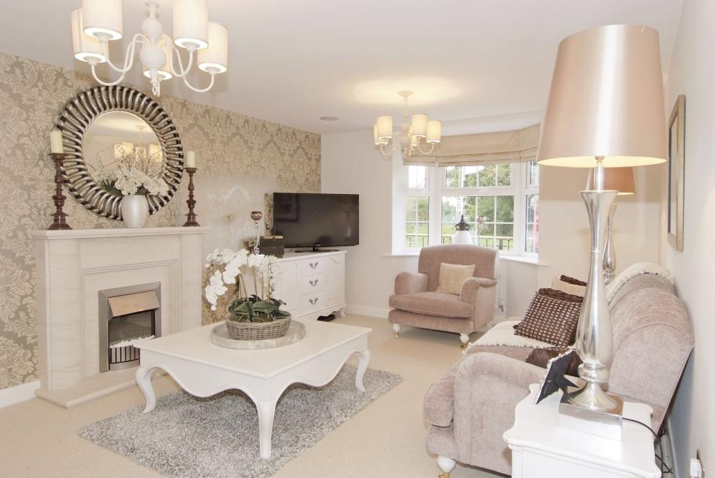 4 bedroom detached house for sale in meynell road quorn for Living room next to kitchen