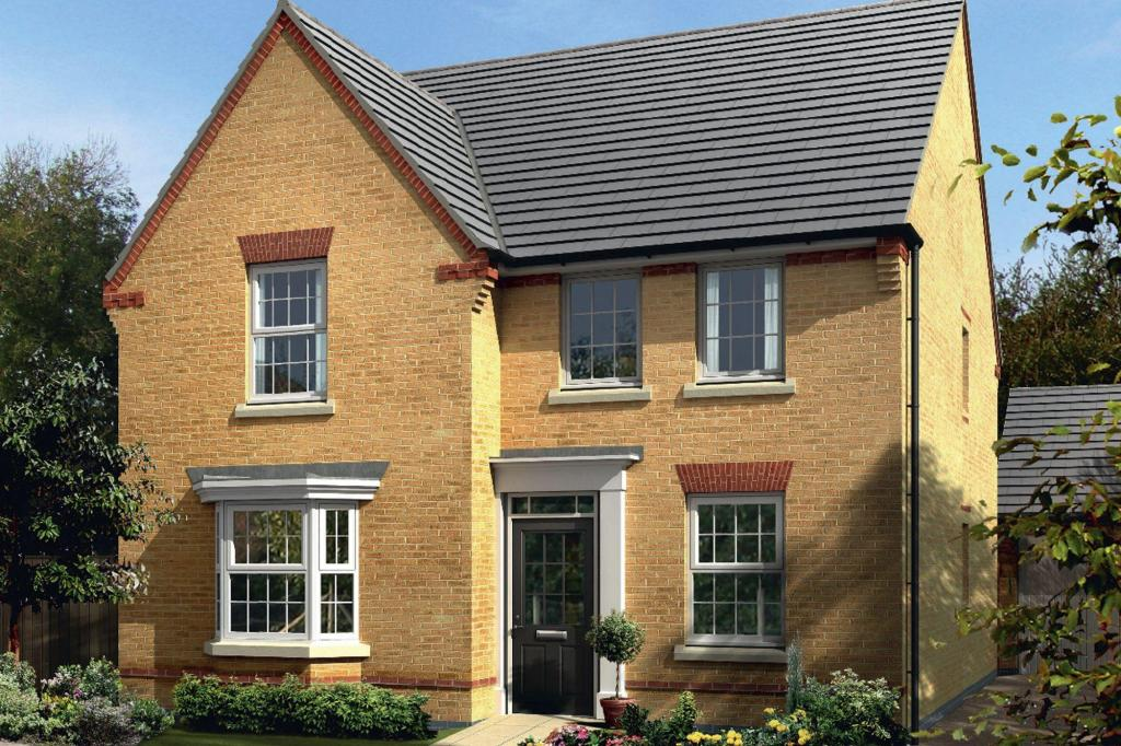 4 bedroom detached house for sale in dunbar way ashby de for Ashby homes