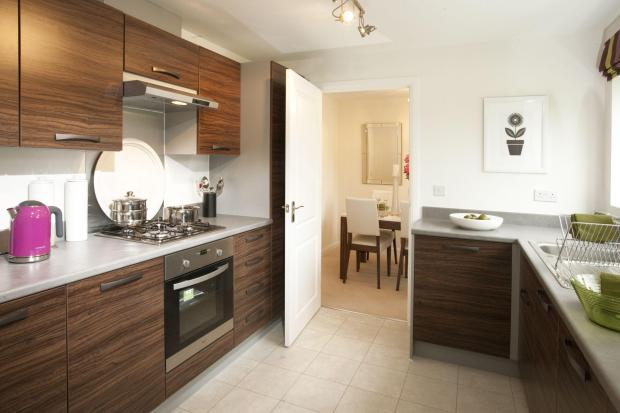 Typical image of Gloucester kitchen.