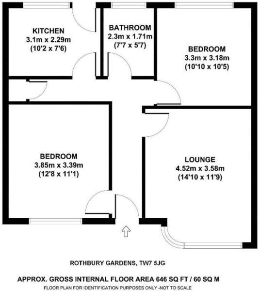 Floor plan - Islewor