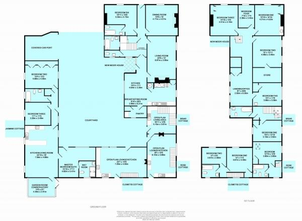 6 bedroom property for sale in New Moor House Edlingham Edlingham