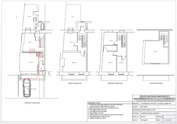 Proposed Floor