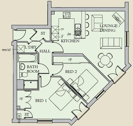 Floor Plan Apartment