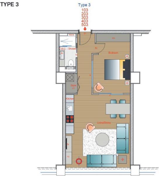 floor plan type 3.JP