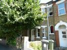Terraced house in Shrubland Road...