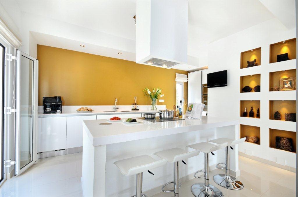 Mustard design ideas photos inspiration rightmove Orange and yellow kitchen ideas