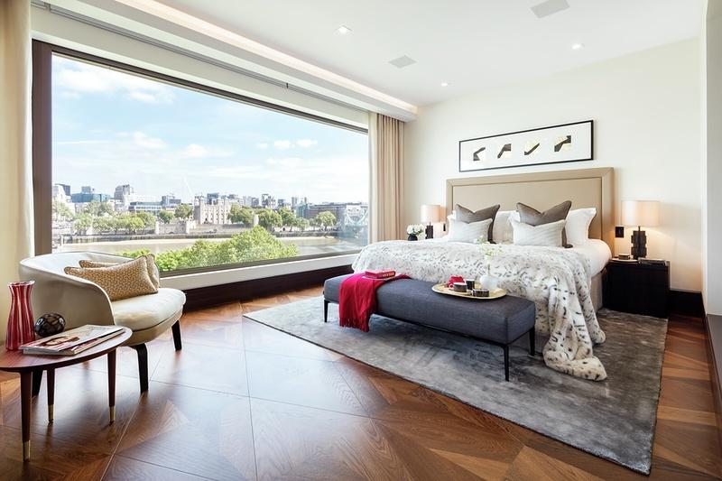 One Tower Bridge,Master Bedroom
