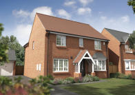 new home for sale in Barton Road, Silsoe, MK45