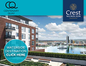 Get brand editions for Crest Nicholson Ltd, Centenary Quay