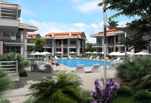 2 bedroom Apartment for sale in Mugla, Fethiye, �alis