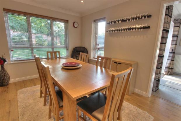 Dining/Family Room: