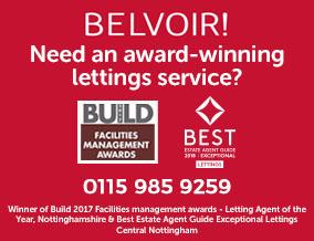 Get brand editions for Belvoir, Nottingham Central