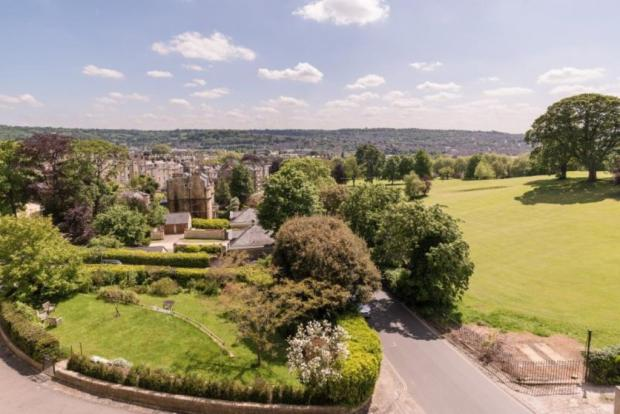 view shot of 2 cavendish cresent marketed with Pritchards Estate Agents Bath