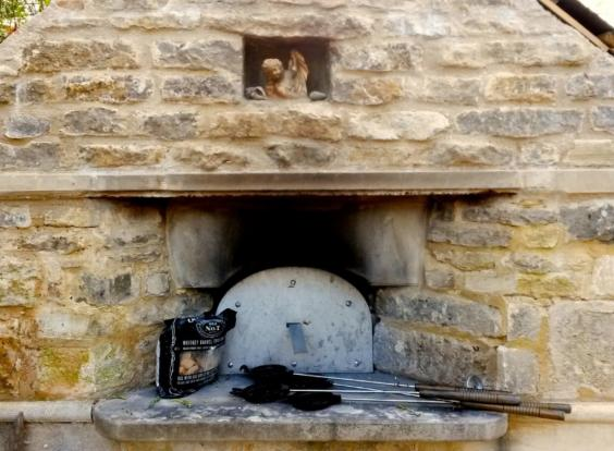 Avoncliff Ancliff Square Garden wood oven by Pritchards Bath