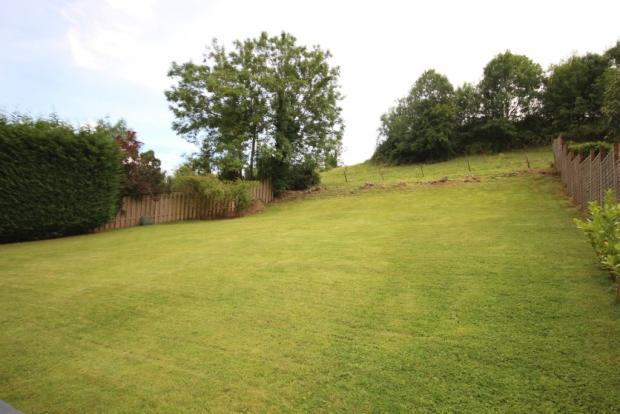 The Glen Saltford rear garden