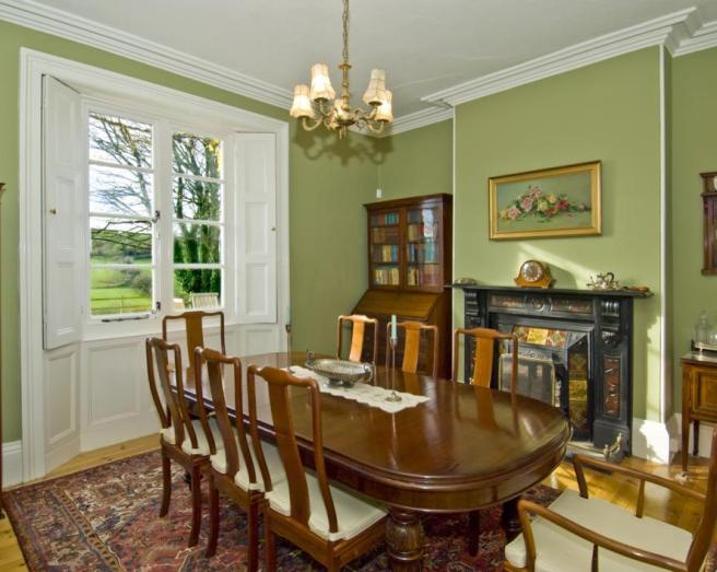 Click to see a larger image for Olive green dining room ideas