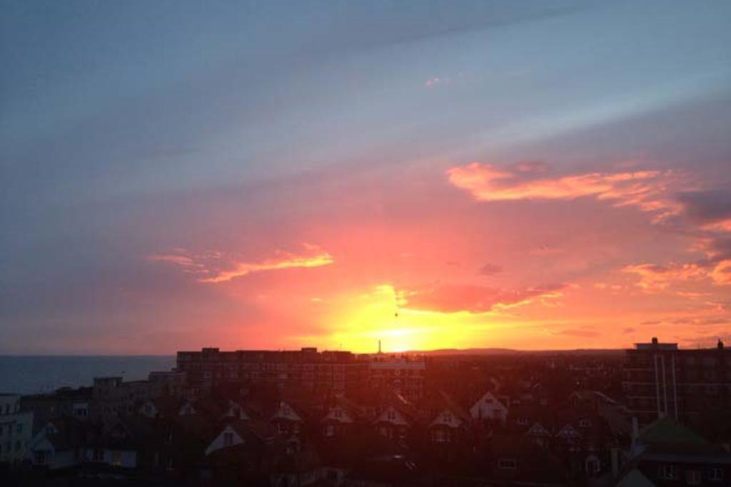 Sunset view at Flat