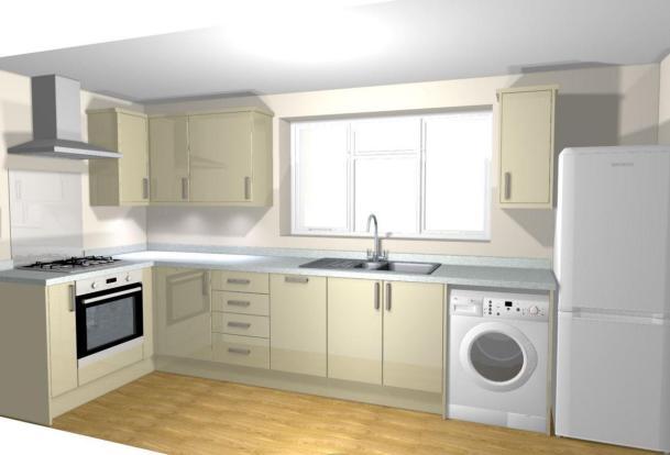Flat 4 Kitchen Plan.
