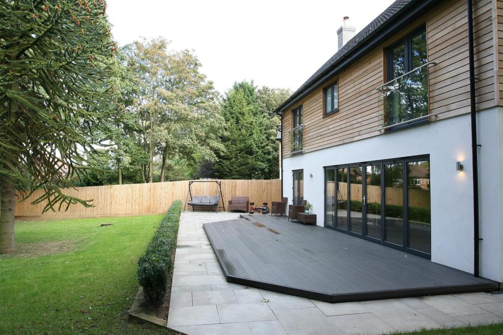 Decking and patio