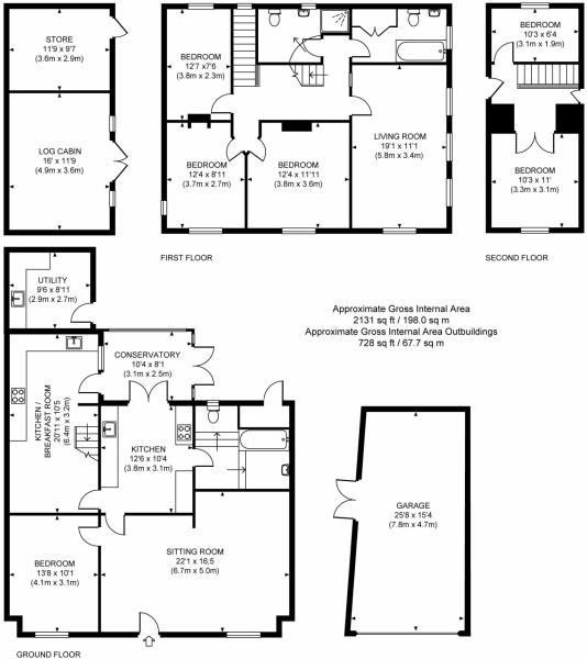 Floor plan-3 floors