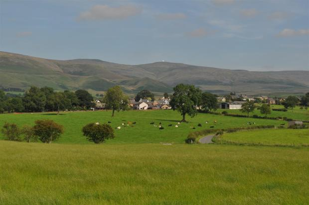 Approach to Blencarn