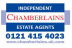 Chamberlains (Birmingham) Ltd , Selly Oak - Lettings logo