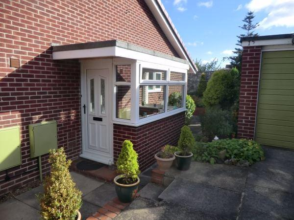 2 bedroom semi detached bungalow for sale in st michaels for Porch designs for bungalows uk