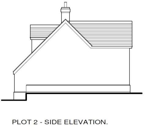 Plot 2 Side Elevatio