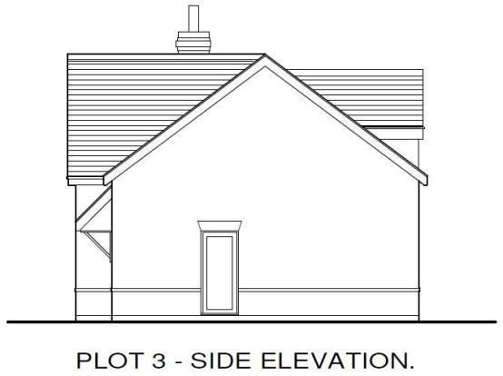 Plot 3 Side Elevatio