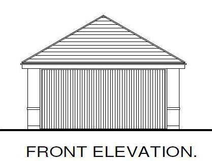 Front Elevation Gara