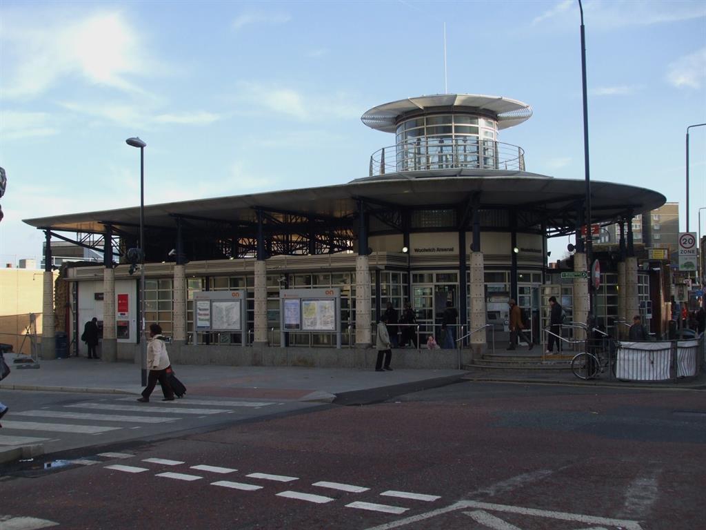 Woolwich Train Station