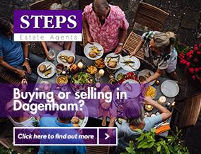 Get brand editions for Steps Estate Agents, Dagenham