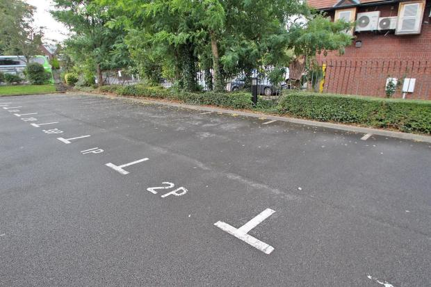 ALLOCATED PARKING 2P