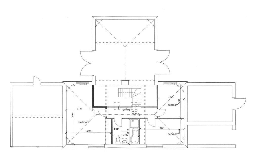 Rushton Barn Prposed first floor