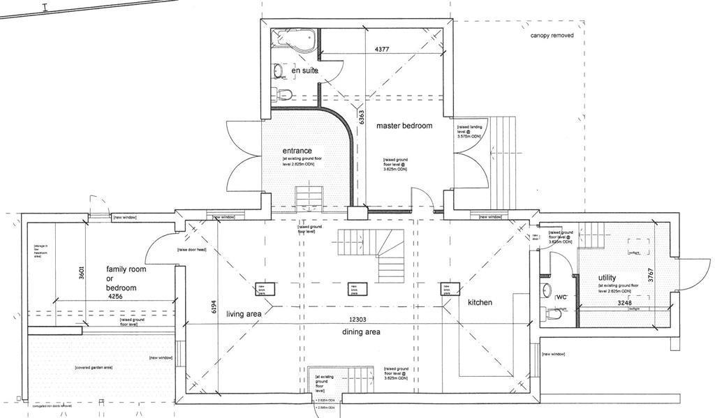 Rushton Barn Proposed Ground Floor